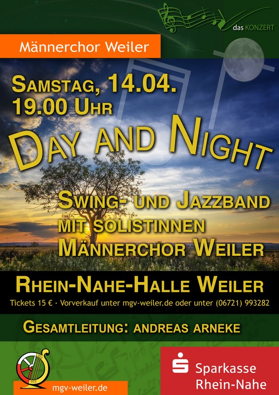 Plakat 'Day and Night'
