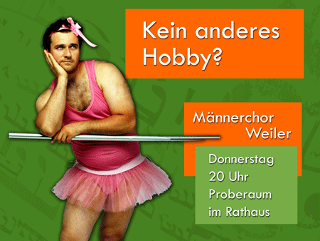 Kein anderes Hobby?