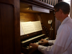 Orgel: Dr. Andreas Stipp